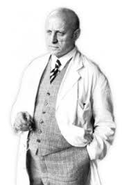Le docteur Otto Buchinger, fondateur des cliniques de jeûne Buchinger