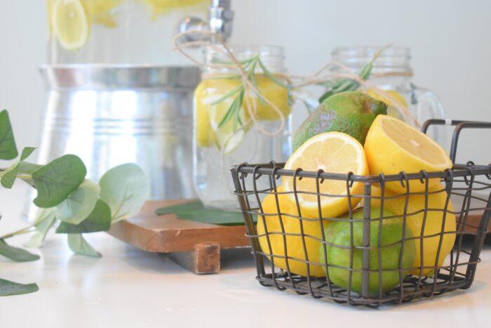 eau citronnée détox